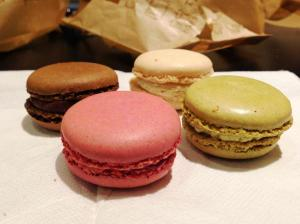 macarons-in-mcdonalds-in-brussels-belgium-one-of-each-chocolate-vanilla-pistachio-and-raspberry-review